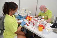 HIV testing in Pride Village