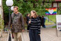 Slavnostní recepce Prague Pride